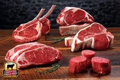 Dry Aged Wagyu/Angus Grass Fed Beef Tenderloin – 1 filet per package – Flying B Bar Ranch: Colorado Grass Fed Beef Carne Angus, Angus Beef, Steak Spice, Beef Steak, Carne Asada, Barbecue Recipes, Beef Recipes, Different Steaks, Meat Love