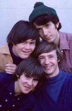 """The Monkees"" (1966-68)  Micky Dolenz, Davy Jones, Michael Nesmith, Peter Tork"