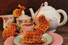 my sweet cloud bunny waffles