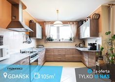 Atrakcyjny dwupoziomowy apartament z wysokiej klasy wykończeniem, zlokalizowany w Gdańskiej Osowie.  Mieszkanie liczące 105,7m2 idealnie nadaje się dla młodych osób oraz rodzin z dziećmi, szukających dobrze skomunikowanego miejsca z dala od zgiełku miasta.   #tyszkiewicz #gdansk #mieszkanie #trojmiasto #morze CHCESZ WIEDZIEĆ WIĘCEJ? KLIKNIJ W ZDJĘCIE Kitchen Cabinets, Home Decor, Decoration Home, Room Decor, Cabinets, Home Interior Design, Dressers, Home Decoration, Kitchen Cupboards