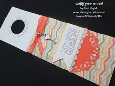Stampin' Up!® Wine Bottle Gift Tag - Stamp Your Art Out!