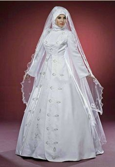 Discount New Design Sexy White Arab Long Sleeve Formal Muslim Wedding Dress  From Trustful Online Seller Easebuydress