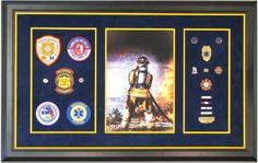 Naples Florida Firefighter | The Great Frame Up | Naples, FL | www.naples.thegreatframeup.com/ |
