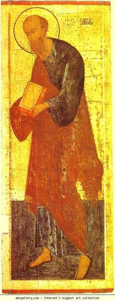 Dionisii (Dionysius). The Apostle Paul. Olga's Gallery.