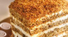 Domáca marlenka alias medovník (maškrta na víkend) Czech Recipes, Ethnic Recipes, Vanilla Cake, Sweet Recipes, Tiramisu, Ham, Food And Drink, Homemade, Baking