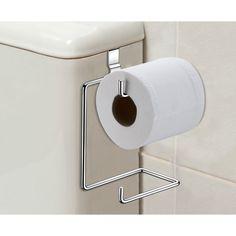 Papeleira Suporte Porta Papel Higiênico Para Caixa Descarga / Acoplada
