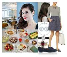 """""""Having brunch with her friend Amanda on Sunday morning at Kensington Palace"""" by marywindsor ❤ liked on Polyvore featuring Kenzie, Elsa Peretti, Matthew Williamson and Cartier"""