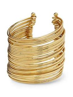Hive & Honey Extra Wide Wired Cuff | Piperlime