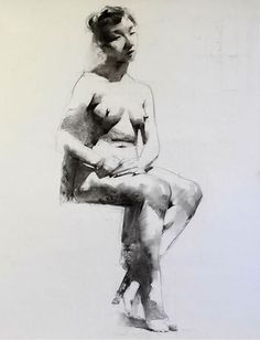 Kai Fine Art is an art website, shows painting and illustration works all over the world. Figure Painting, Figure Drawing, Life Drawing, Art Sketches, Amazing Art, Fine Art, Statue, Portrait, Drawings