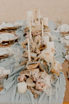 location project director photo styling and design rentals floral design video Beach Wedding Reception, Destination Wedding, Abalone Shell, Floral Wedding, Sea Shells, Floral Design, Table Decorations, Projects, Beautiful