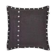 Kissen Silene - Polyester - Schwarz - 45x45 cm