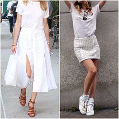7 Ways to Wear a White T-Shirt