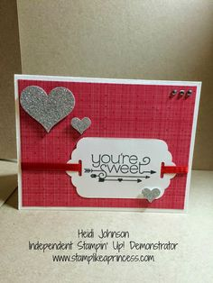 You Plus Me Stampin' Up! stamp set, plus Stacked with Love DSP Stack www.stamplikeaprincess.com