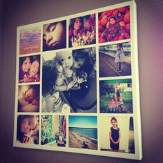 Perfect gift idea out of Instagram photos, idea from @Nadia Carriere (ChildMode.com)