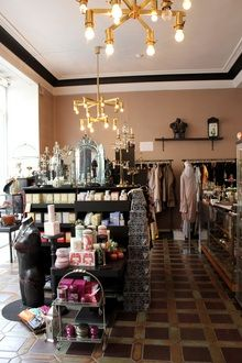 Brand Store, Oslo, Norway, Chandelier, Ceiling Lights, Collections, Furniture, Beautiful, Home Decor