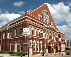 Ryman Auditorium, original home of the Opry :)