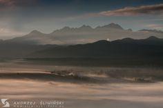View of the Tatra Mountains, Poland. www.sliwinski-foto.eu