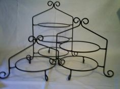 Amazon.com: Wrought Iron Pie Stand/Rack Triple Tier Hand Made: Home & Kitchen ...I'm obsessed with having wedding pie rather than cake!