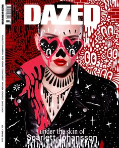 Check out Hattie Stewart's wonderful doodles over magazine covers - Digital Arts
