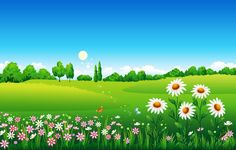 Find Floral Meadow stock images in HD and millions of other royalty-free stock photos, illustrations and vectors in the Shutterstock collection. Green Background Video, Scenery Background, Studio Background Images, Powerpoint Background Design, Landscape Background, Cartoon Background, Wallpaper Powerpoint, Wallpaper Nature Flowers, Beautiful Nature Wallpaper