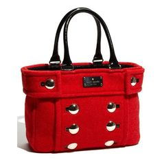 kate spade new york 'fox chapel shari' tote ❤ liked on Polyvore featuring bags, handbags, tote bags, purses, fox handbags, kate spade, red purse, red handbags and kate spade tote