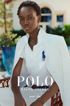 New limited-edition Polo shirts reflecting Ralph Lauren's signature inspirations. Preppy Outfits, Cute Summer Outfits, Cute Outfits, Fashion Outfits, Pretty Black Girls, Beautiful Black Women, Black Girl Aesthetic, Aesthetic Hair, Black Nike Shoes