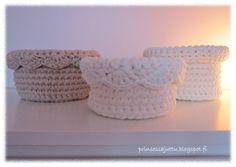 Three beautiful baskets