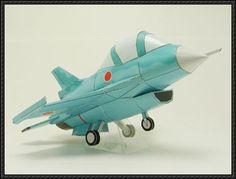 SD Mitsubishi F-2A Viper Zero Fighter Free Aircraft Paper Model Download