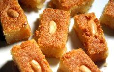 Halva of Rina Greek Sweets, Greek Desserts, Greek Recipes, Sweets Recipes, Cooking Recipes, Greek Menu, Onion Rings, Different Recipes, Doughnut