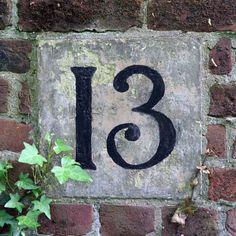 My lucky number:  13   Quaker Burial Ground Norwich, Norfolk, England, UK   By: Leo Reynolds   Flickr - Photo Sharing!