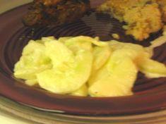 Marinated Cucumbers in Sour Cream