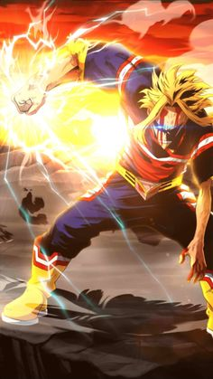 My Hero Academia Smash Tap: All Might - Estados Unidos de Smash Boku No Hero Academia, My Hero Academia Manga, Hero Academia Characters, Anime Characters, Manga Anime, Anime Art, Otaku Anime, Anime Tumblr, Susanoo