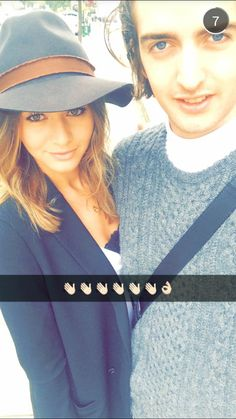 """Eleanor and Max on Max's snapchat story [September 3rd, 2015]: """"""""."""