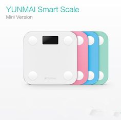 [Visit to Buy] premium Original YUNMAI mini smart weighing scale digital scale support Android4.3 IOS7.0 Bluetooth 4.0  International version #Advertisement