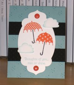 April Showers by Christy S. - Cards and Paper Crafts at Splitcoaststampers