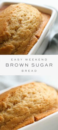 No Yeast Bread, Sugar Bread, Yeast Bread Recipes, Quick Bread Recipes, Easy Bread, Bread Baking, Baking Recipes, Dessert Recipes, Desserts