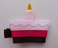 birthday cake clippie