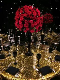 John Emanuel styling  Love the gold!