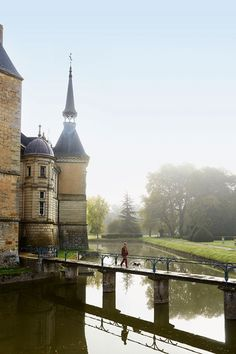 Discover the beautiful Château de Sully, a castle in Burgundy, France, on HOUSE - design, food and travel by House & Garden.