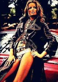 1960's fashion: Veruschka