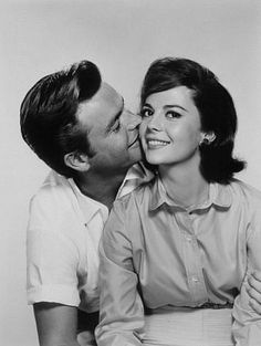 Robert Wagner and his wife Natalie Wood.