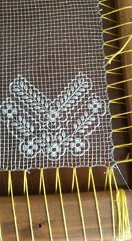 Drawn Thread, Thread Work, Needle Lace, Bobbin Lace, Bruges Lace, Lacemaking, Japanese Embroidery, Filets, Filet Crochet