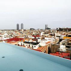 Barcelona #rooftop #view