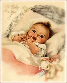 Waar nostalgie en romantiek elkaar ontmoeten...tja dan zou dit zo maar kunnen.een mooie baby...................lb xxx.
