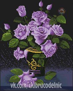 Roses mauves   VK