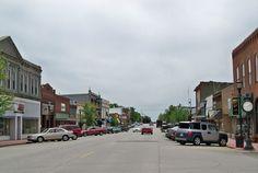 Main Street, Bristol, Kansas (fictional Bristol, KS)