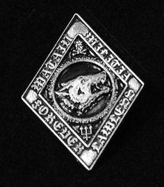 """Watain - Militia 2"""" Metal Badge Pin"""