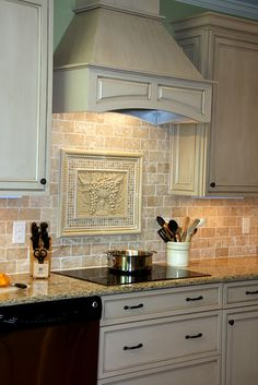 Tumbled Travertine Backsplash Ideas | Kitchen Remodel: After - a photo on Flickriver