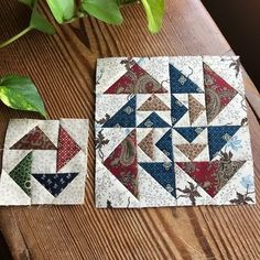 quilts and more: Week 45 Moda BlockHeads Double Dutch by Jo Morton Star Quilt Blocks, Star Quilt Patterns, Pattern Blocks, Small Quilts, Mini Quilts, Scrappy Quilts, Flying Geese Quilt, Quilt Of Valor, Quilted Wall Hangings