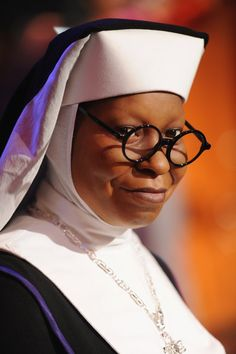Whoopi Goldberg- Sister Mary Clarence/ Sister Act Shenzi Marie Jaquelina Hyena/ The Lion King The Grand Banshee/ The Magical Legend of the Leprechauns Sister Act Film, I Movie, Movie Stars, Broadway Costumes, Raising Capital, Whoopi Goldberg, Interview, Comedians, Good Music